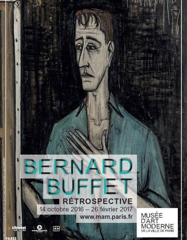 On court voir l'exposition Bernard Buffet au Musée d'Art moderne de la Ville de Paris