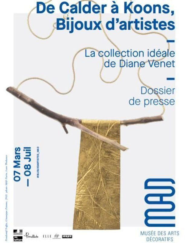 Gagnez vos places pour l'exposition « De Calder à Koons, Bijoux d'artistes » au Musée des Arts Décoratifs