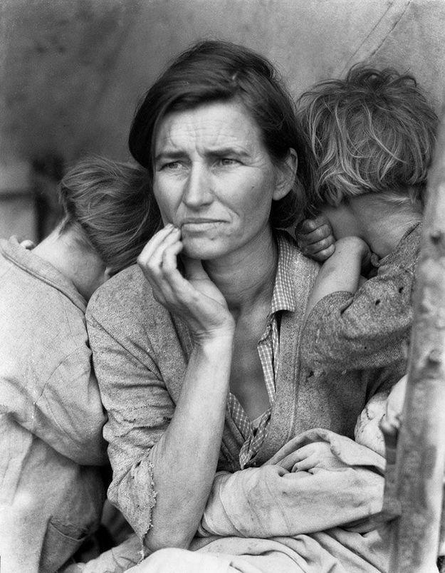 Dorothea Lange : politiques du visible au Jeu de Paume (Paris)
