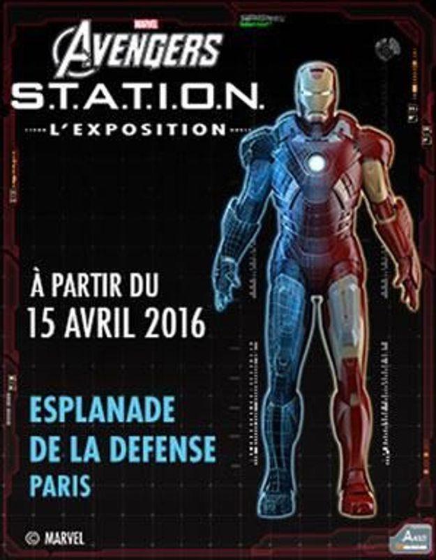 « S.T.A.T.I.O.N » : l'exposition Avengers s'installe à Paris