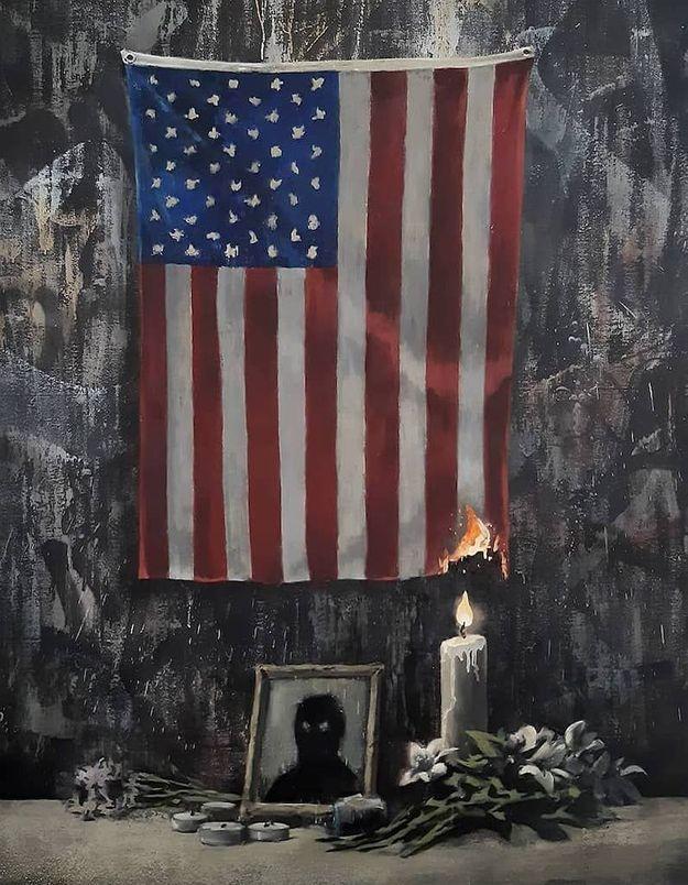 Banksy : son œuvre en hommage à George Floyd