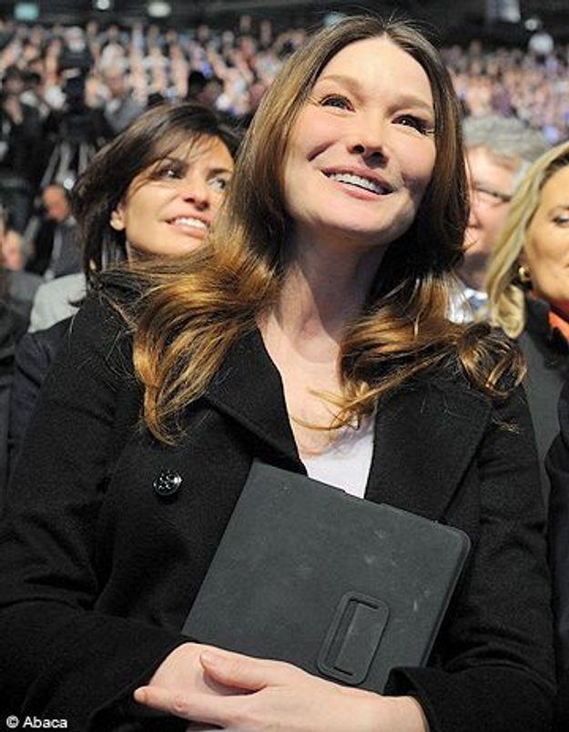 Carla Bruni sera en direct sur France 5 le 8 mars