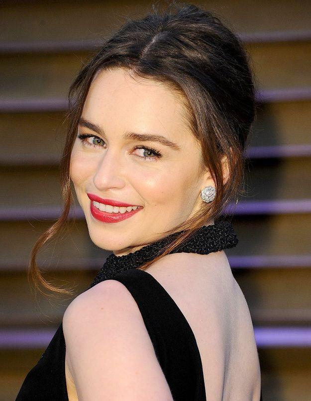 Emilia Clarke de Game of Thrones flattée par l'hommage de Madonna