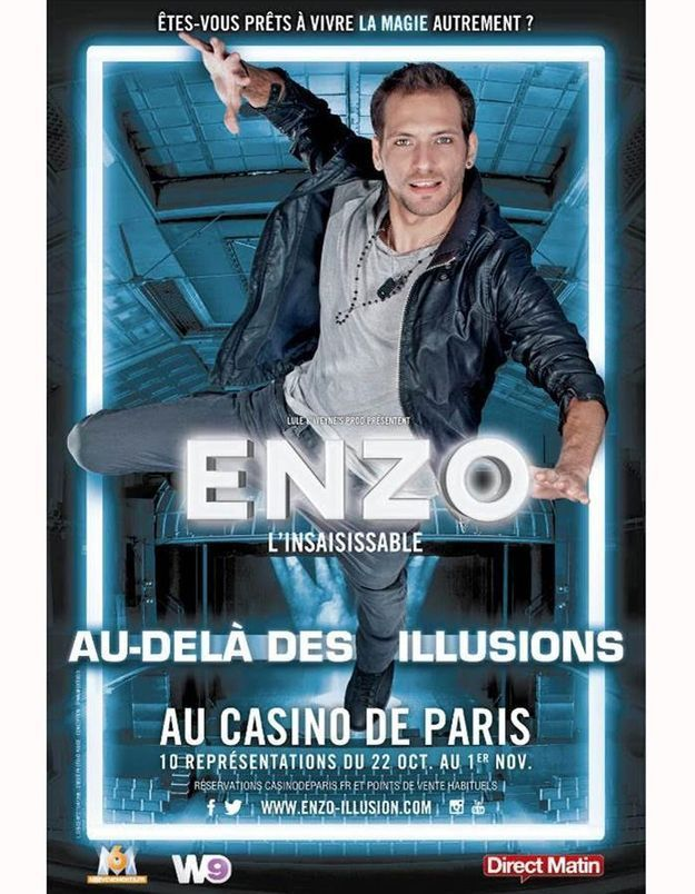 « Enzo l'insaisissable » : le spectacle de prestidigitation fou arrive bientôt !