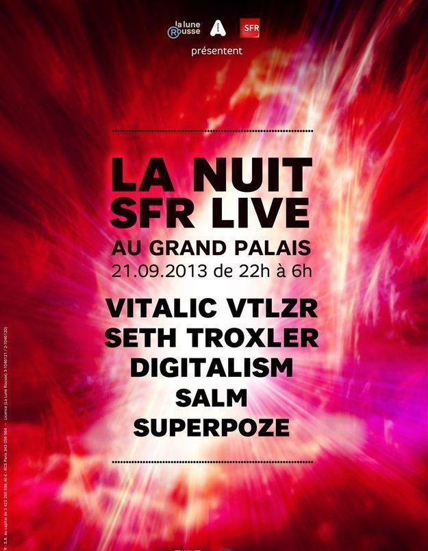 Gagnez vos places pour la Nuit SFR Live!