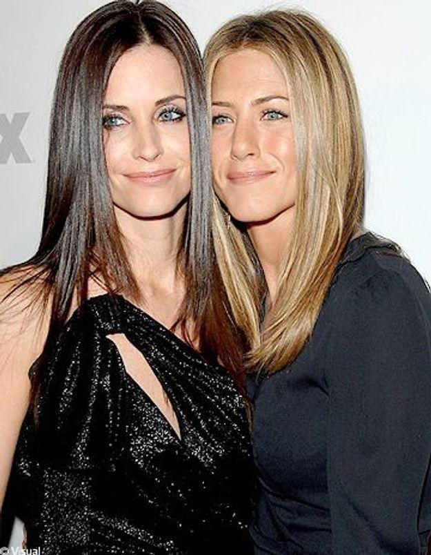 Jennifer Aniston, future thérapeute de Courteney Cox