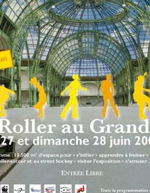 """La vie de Lilie : """"La nef du Grand Palais restera ouverte tout le week-end et mettra le roller à l'honneur !"""""""