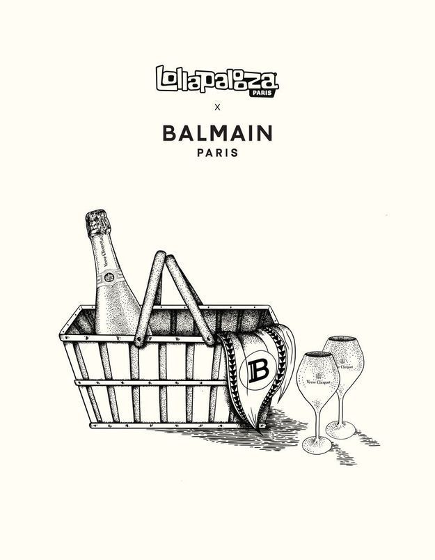 Lollapalooza x Balmain : le festival parisien se transforme en pique-nique bucolique ce week-end