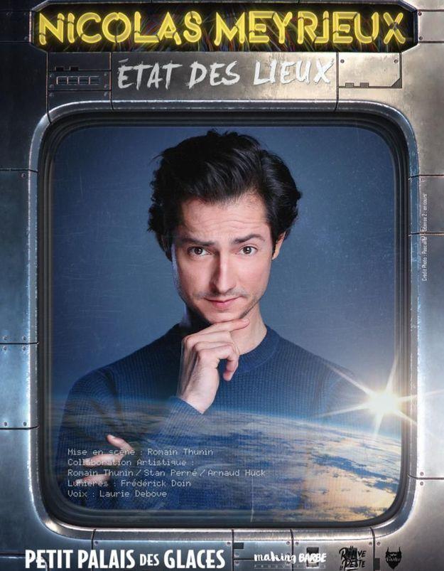 Nicolas Meyrieux, l'humoriste engagé du web au Palais des Glaces