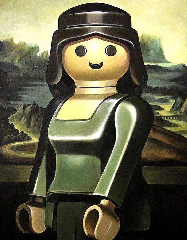 Prêt-à-liker : quand les Playmobil rejouent les grands classiques de la peinture