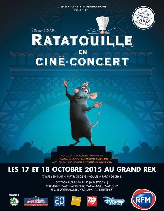 Ratatouille en ciné-concert : gagnez vos places