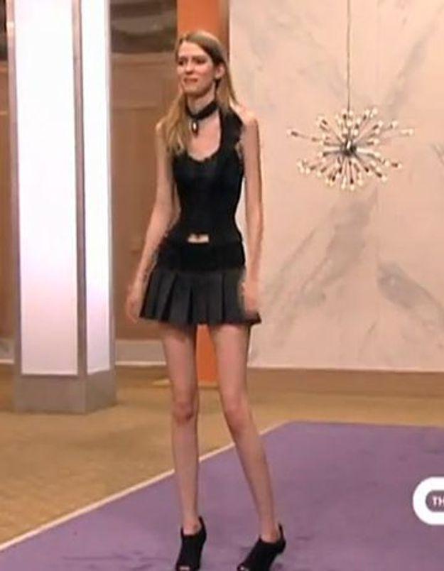 Télé-réalité : trop maigre pour être mannequin ? A voir !