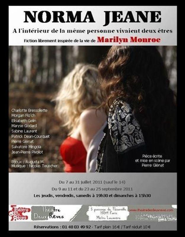 Théâtre : les derniers jours de Marilyn Monroe racontés par Norma Jeane