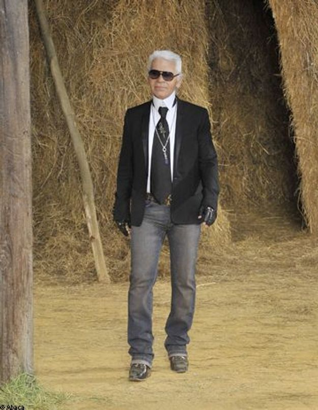 """TV : """"Une journée dans la vie de Karl Lagerfeld"""""""