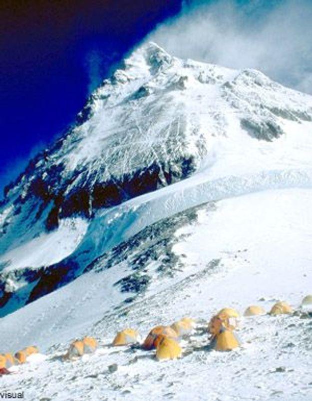 Une Française à l'assaut de l'Everest