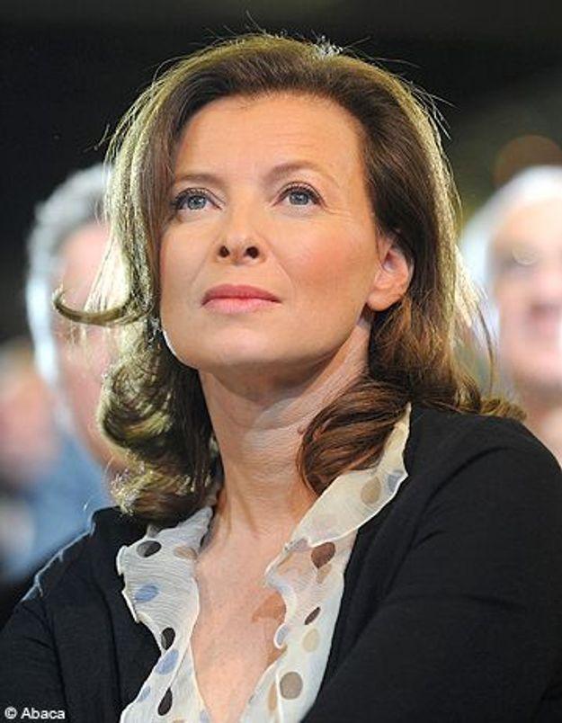 Valérie Trierweiler en promo pour sa nouvelle émission