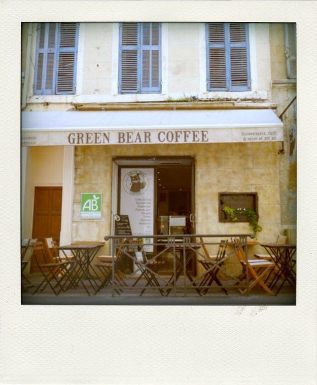 The Green Bear Coffee, à Marseille