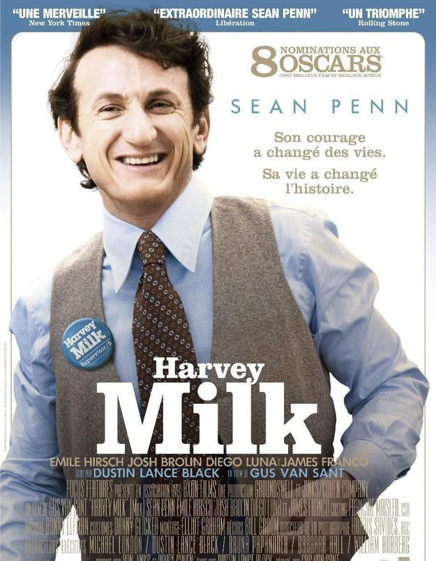 Ce soir, on s'engage avec Sean Penn devant « Harvey Milk » sur Ciné+ Emotion