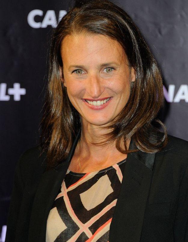 Camille Cottin en 2013, à  la soirée Canal +