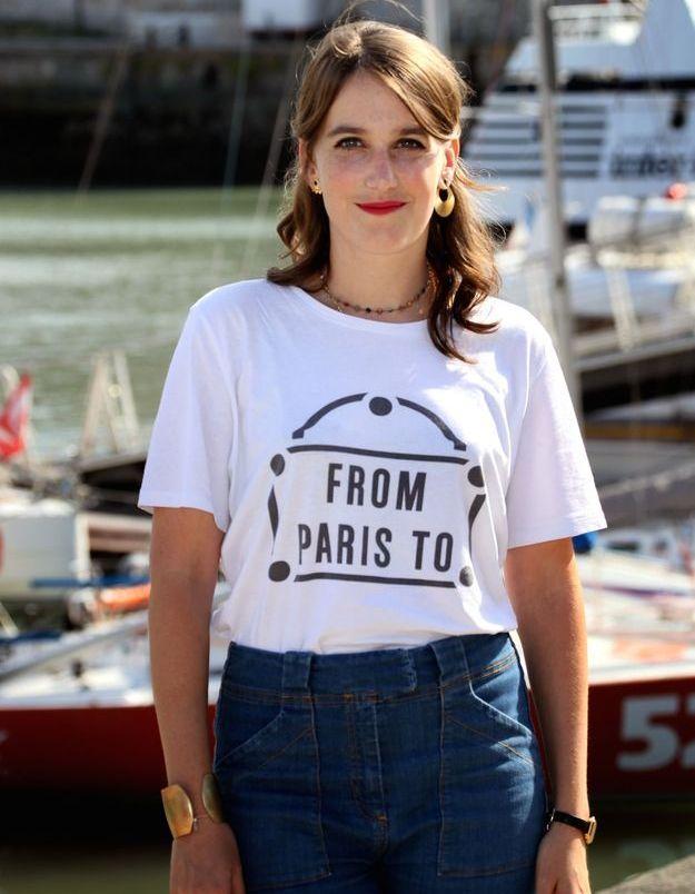 Fanny Sidney, alias Camille Valentini, en 2018
