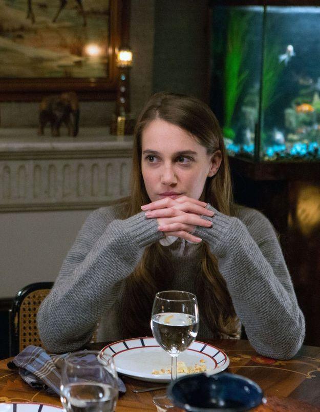 """Fanny Sidney en 2013 dans la série """"Hard"""""""