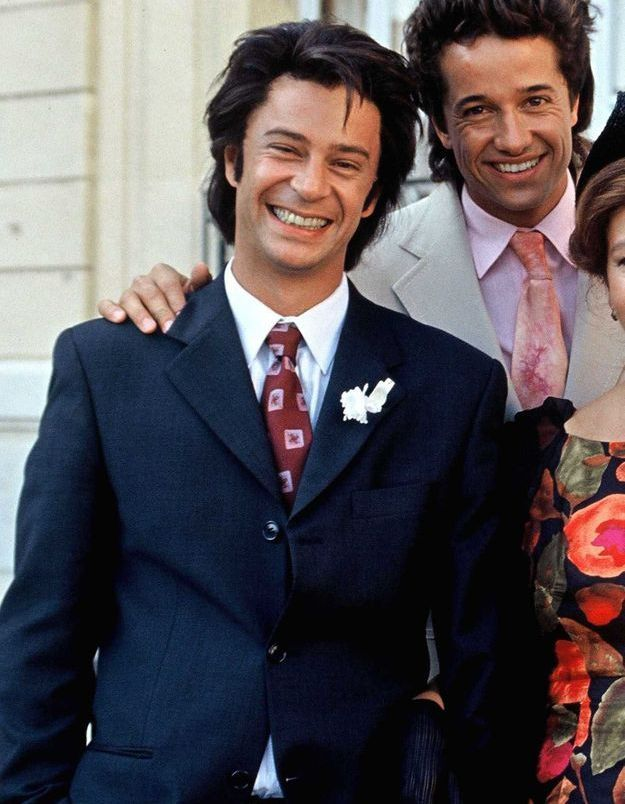 """Thibault de Montalembert en 1994 sur le tournage de """"Les rois de Marseille"""""""