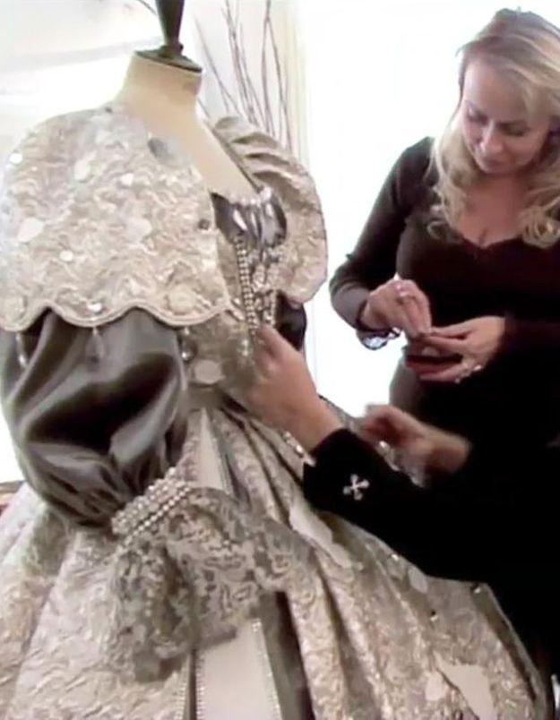 59eb86c4962 Rosalie Varda recrée les robes de « Peau d âne » - Elle