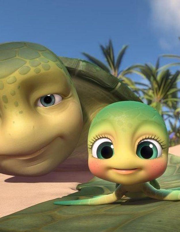 [VIDEO] Sammy, l'adorable tortue de mer est de retour !