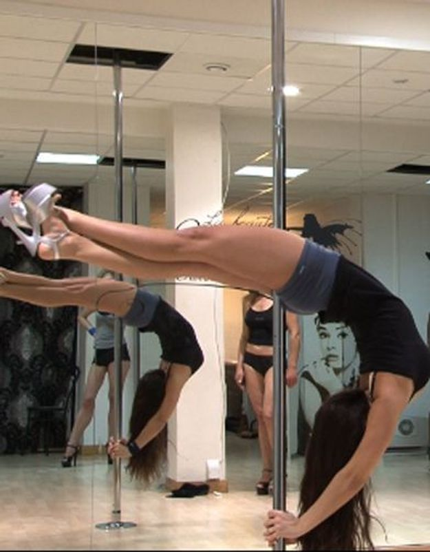 [VIDEO] Pole dance : un sport pas comme les autres