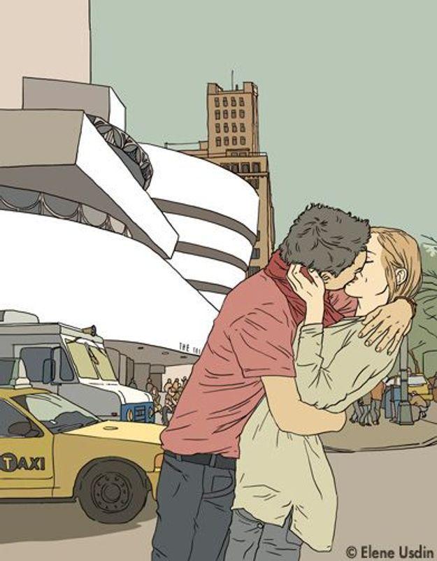 « Et à New York, soudain, un coup de foudre »