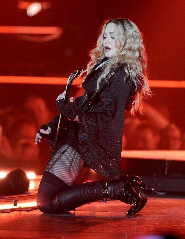 Le conseil de Madonna : se concentrer sur le travail