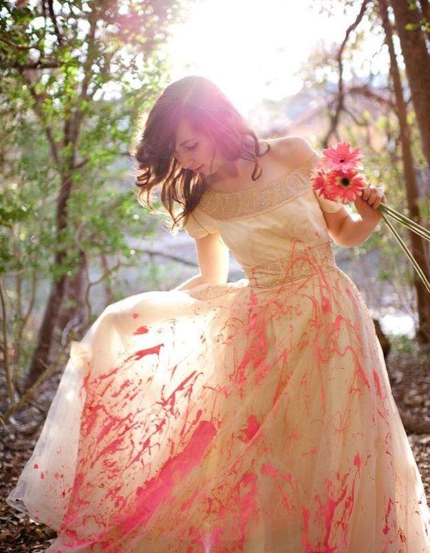 Trash the dress : au soleil !