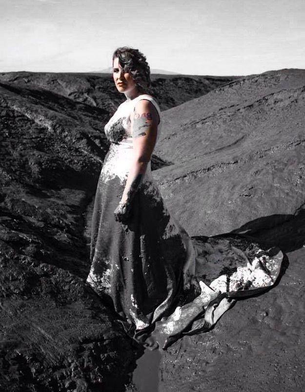 Trash the dress : destruction totale après un divorce !