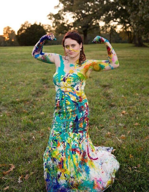 Trash the dress : la force de détruire sa robe de mariée !