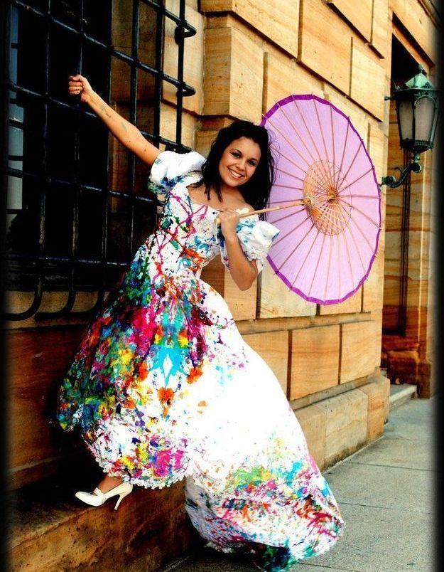 "Trash the dress : ""Under my umbrella"""