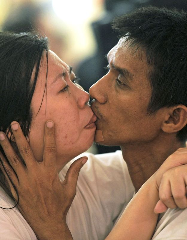 Nouveau record du monde : un baiser de 58 heures !