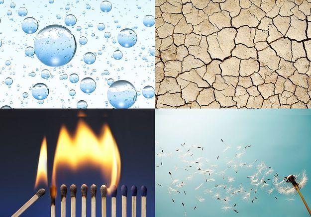 Rêves liés aux 4 éléments