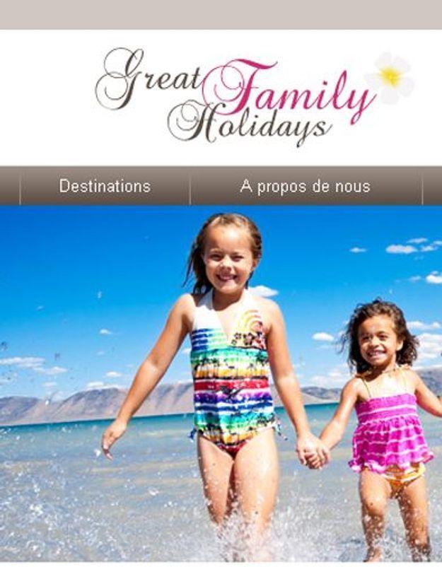 Vacances : les meilleures destinations familiales à portée de clic