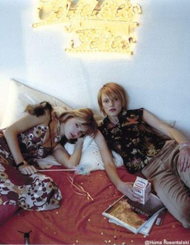 trio bi fr avec une kabyle et sa copine