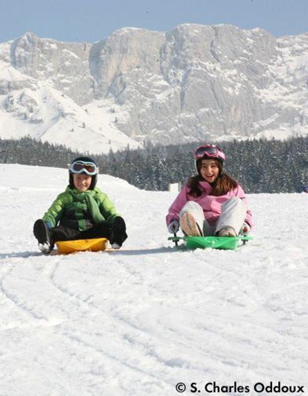 Séjour au ski : bien s'organiser avec les enfants