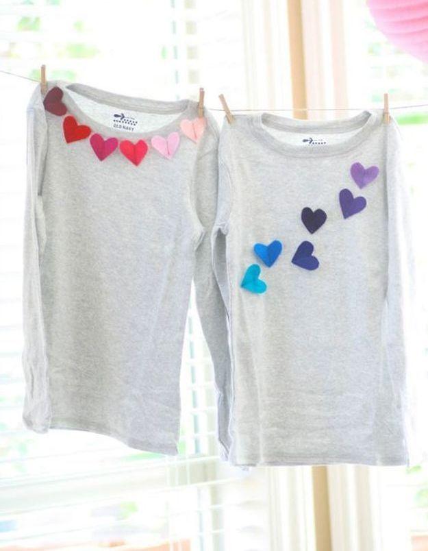 Cadeau fête des mères à faire soi-même : un T-shirt personnalisé
