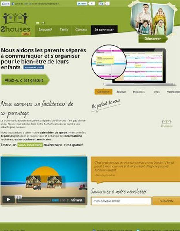 2houses.com : le site qui facilite la vie des parents divorcés