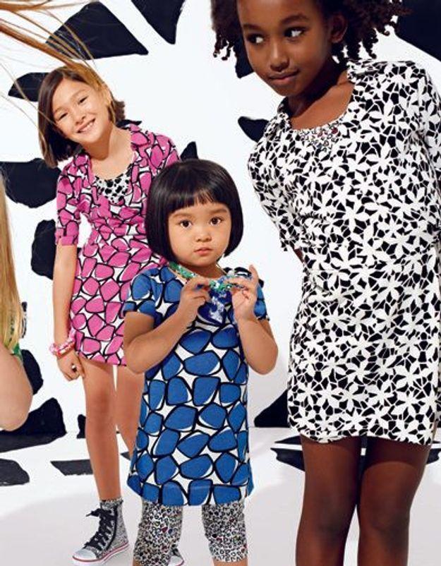 Diane von Furstenberg habille les petits chez Gap