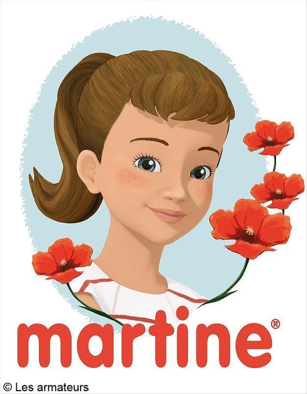 « Martine » à la télévision