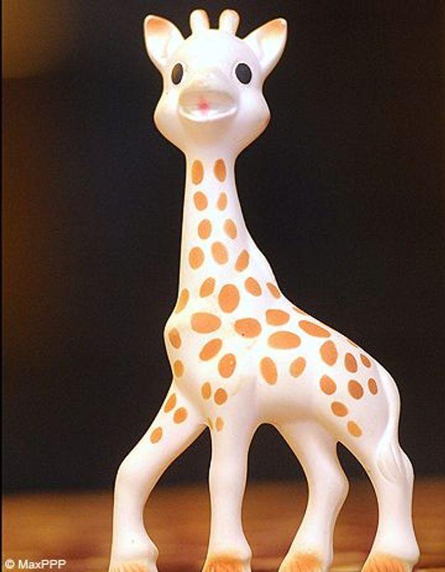 Sophie la Girafe se défend d'être cancérogène
