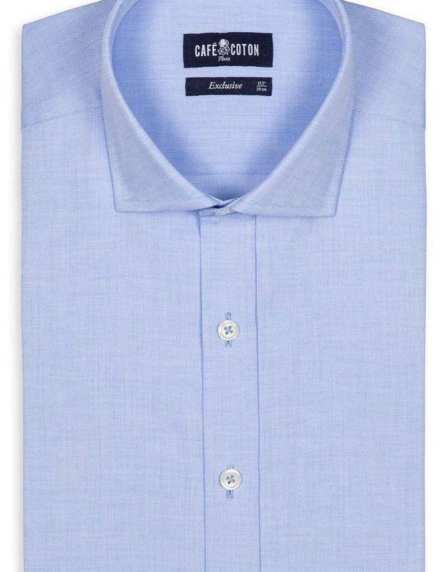 Chemise pour homme Café Coton