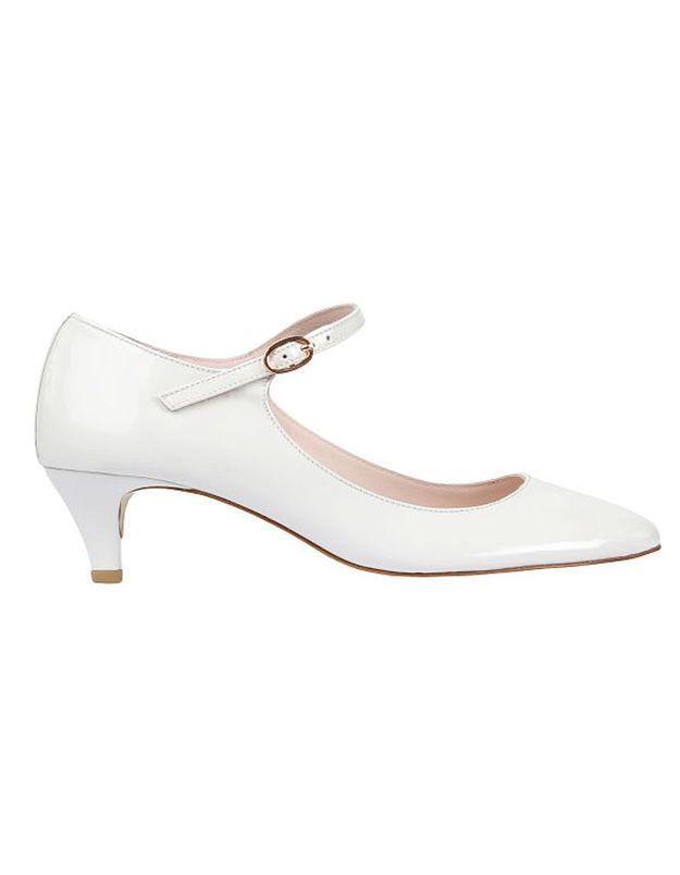 Chaussures de mariée petit talon Repetto printemps été 2015