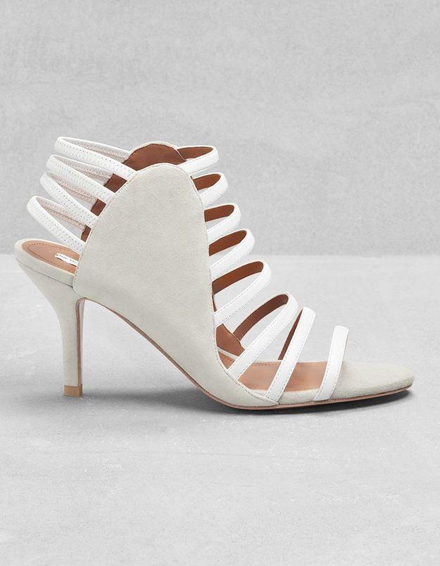 Sandales à multi-brides en cuir & Other Stories printemps été 2015