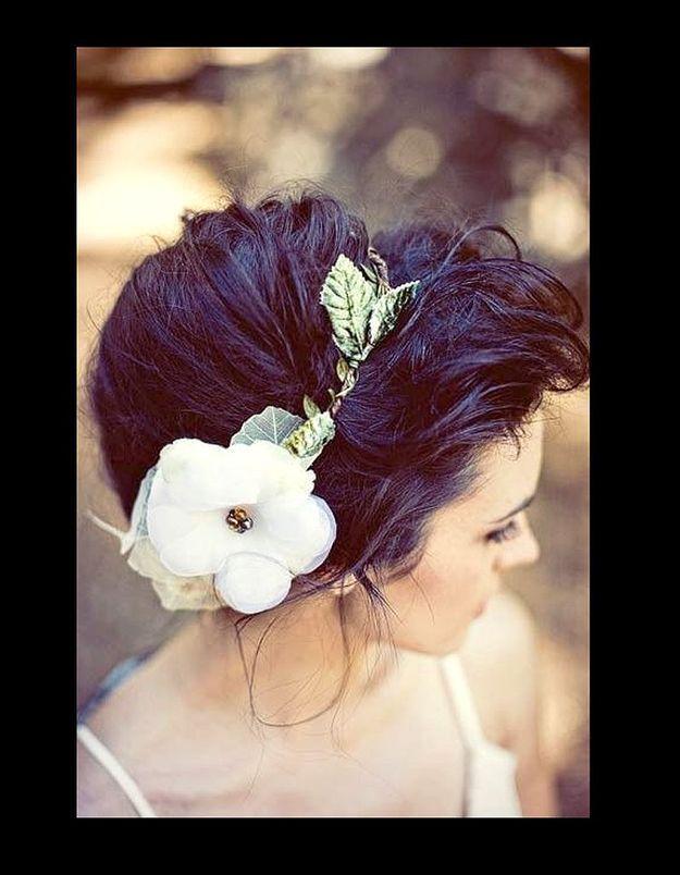 Headband romantique