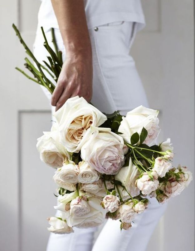 Bouquet de roses chic